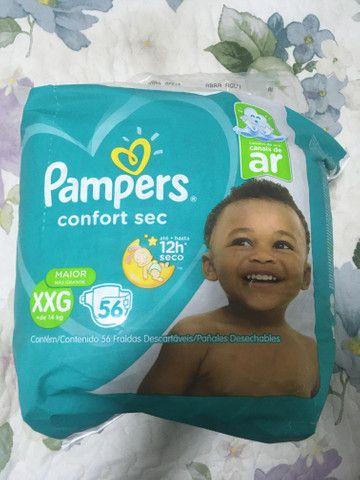 Bebe fralda infantil pampers - Foto 2