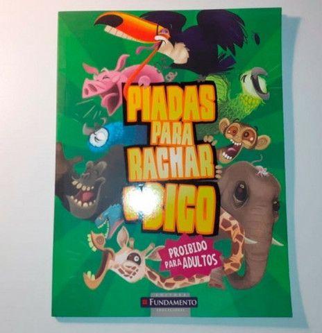 Kit 4 livros infantis: Recordes Mundiais - 2, Revolução Verde e Piadas para Rachar o Bico - Foto 4