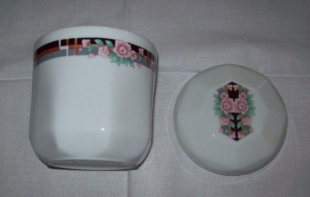 Jogo de café em porcelana Schmidt para 6 pessoas - octogonal - Foto 5