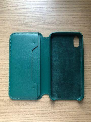 Capa iPhone X/XS Leather Folio - Foto 3