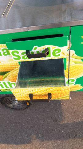 Carrinho de milho verde curau e pamonha  novo personalizados  - Foto 6