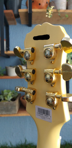 Guitarra Epiphone Les Paul Custom - Foto 5