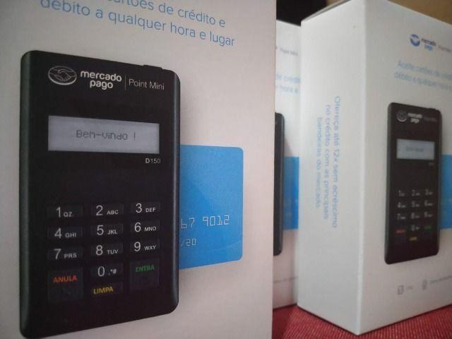Maquina de Cartão Credito e Debito