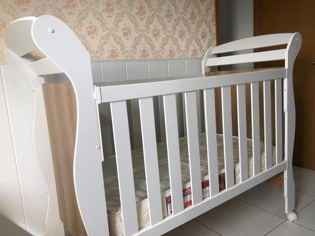 Berço mini cama Reller + colchão
