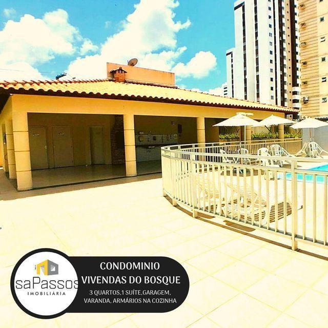 ATENÇÃO!!! VENDO Apartamento no CONDOMÍNIO VIVENDAS DO BOSQUE, - Foto 4