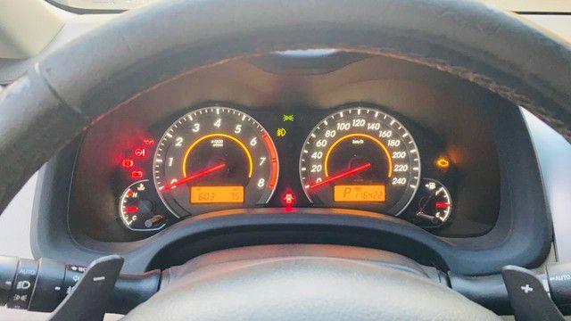 Corolla 2011/2012 cor preto perolizado - Foto 4