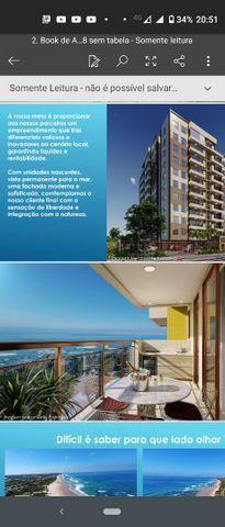 Maravilhoso apartamento novo, 2/4, vista mar em Praia do Flamengo - Foto 4