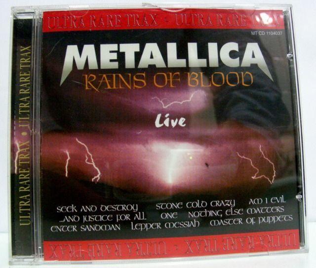 CD Metallica Rains of Blood