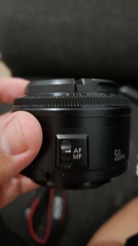 Lente Canon 50mm 1.8 - Foto 5