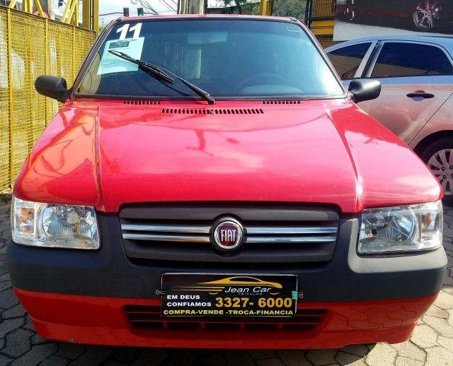 Fiat Uno Mille Economy 1.0, 2 portas. Bom e barato. Confira!