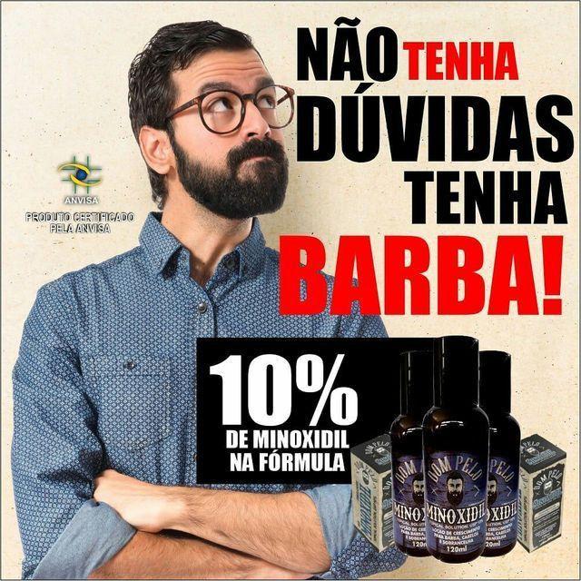 Minoxidil 120ml 10% na fórmula entrega grátis para toda natal 60 reais uni.