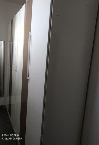 Guarda-roupa armario roupeiro casal grande forte seminovo branco
