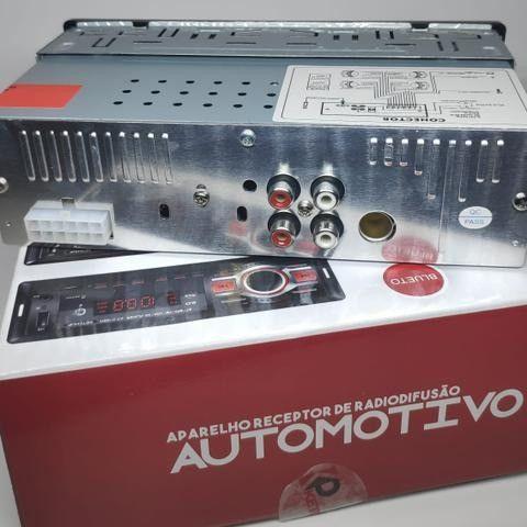 Rádio Automotivo Pen Drive Cartão De Memória E Recebe Chamada - Foto 4