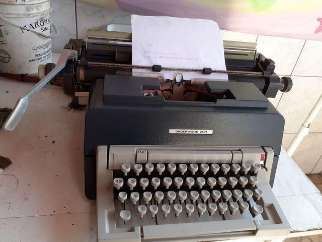 Maquina de escrever underwood 298 - Foto 4