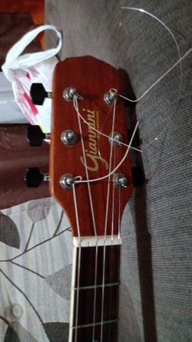 Vendo violão Gianini  eletroacústico em estado de novo  - Foto 3