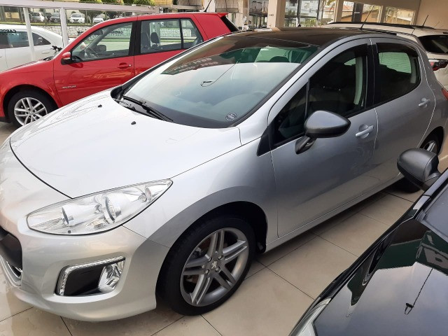 Ent. 50% + 48x 799,00 - Peugeot 308 Griffe THP 1.6 2014 - Só 60.000km - Foto 2