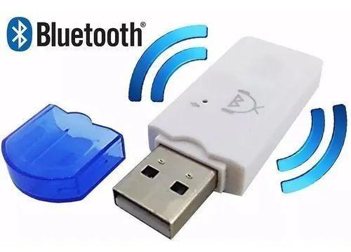 Adaptador Usb Bluetooth Musica Carro Celular Áudio Som Radio - Foto 2