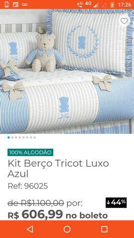 Kit berço luxo - Foto 6