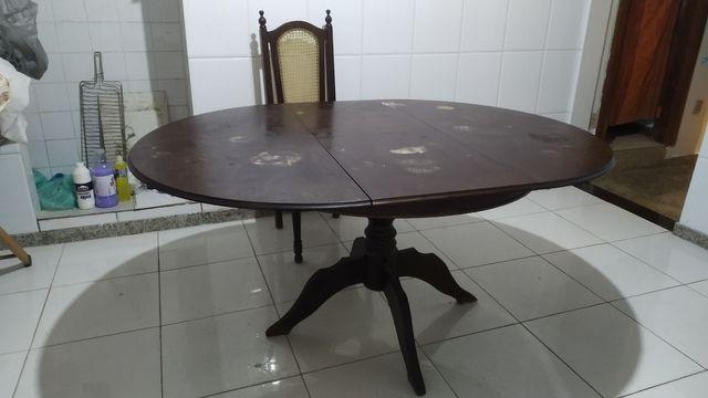 Mesa em madeira maciça - Foto 4