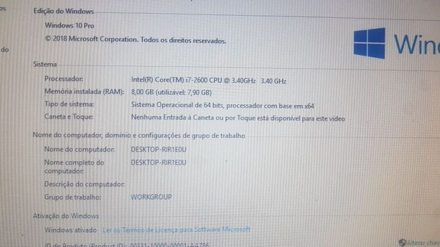 Vende-se PC Gamer intel core i7 2600 3.40 GHz LGA 1155 - Foto 3