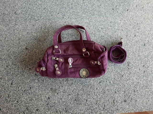 Bolsa roxa pequena  - Foto 2