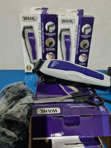 Máquina de cortar cabelo wahl barbeiro salão curso completo profissional - Foto 3