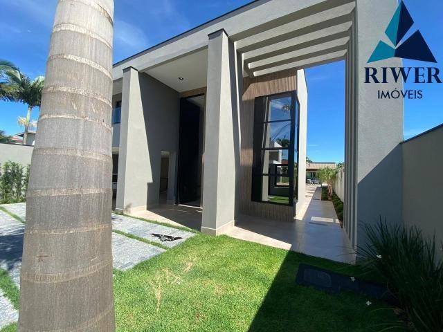 Luxo! Casa perfeita e mobiliada em Vicente Pires! 4 suites, revestimentos e materiais de p - Foto 2
