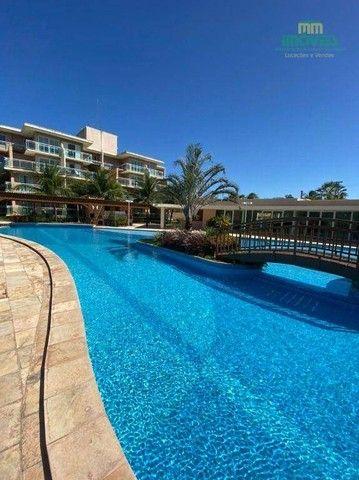 Apartamento com 5 dormitórios para alugar, 126 m² por R$ 4.000,00/mês - Porto das Dunas -