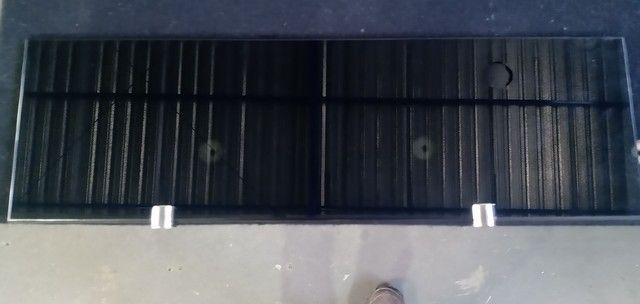 Plateleira de vidro 8mm 500x150 - Foto 6
