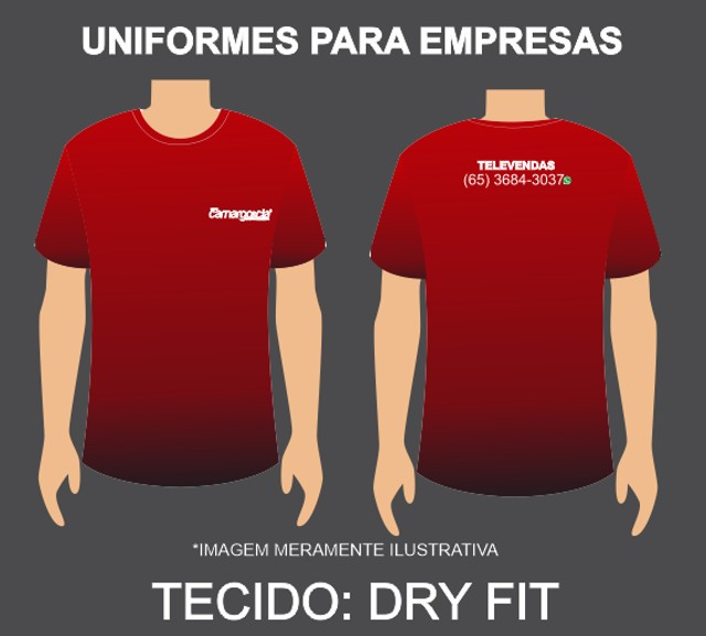 Uniforme para Empresas Dry-Fit - Foto 2