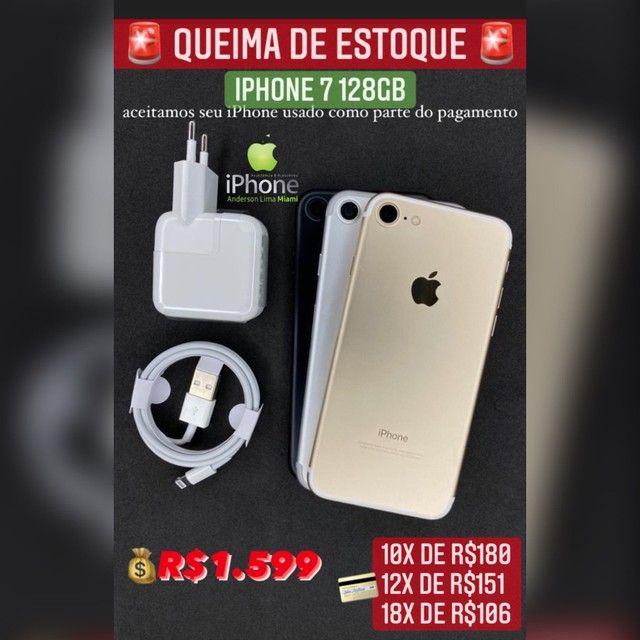 iPhone 7 128gb vitrine super oferta