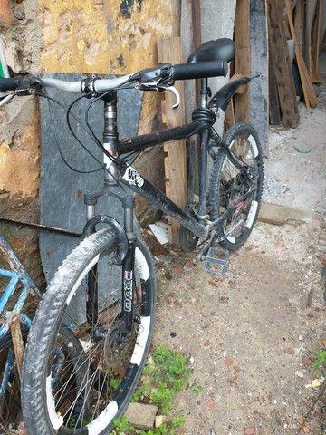 Vendo Bike Mônaco Quadro de alumínio. Aceito cartão!!! - Foto 2