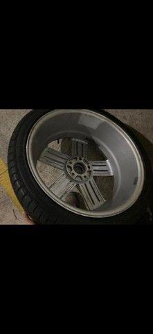 Rodas aro 19 com pneus  - Foto 8