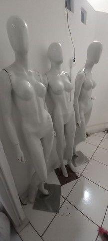 Manequins feminino e masculino  - Foto 3