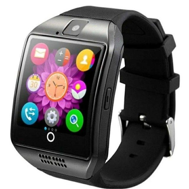 Relógio Smart Watch Q18  Celular Android - Foto 2
