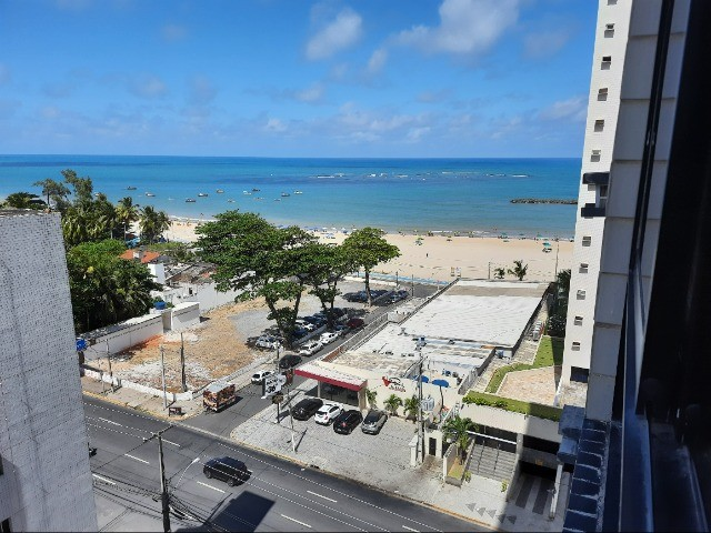 Flat na praia para temporada, quarto e sala, em Jaboatão, região Metropolitana de Recife - Foto 13