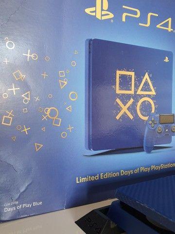 PlayStation 4 Slim Edição Days of Play - Foto 4