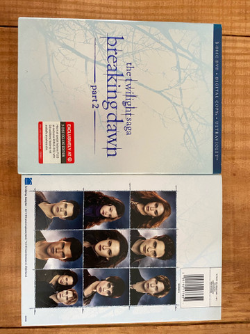 DVD triplo Amanhecer parte 2 - Foto 4