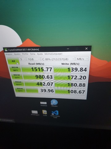 Notebook Gamer/Pro Asus x571GT / FHD 120 Hz / GTX 1650 4GB / I5  / SSD 256 + 1tb HD  - Foto 4