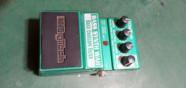 Pedais bass BDI 2 e bass envelope filter - Foto 4