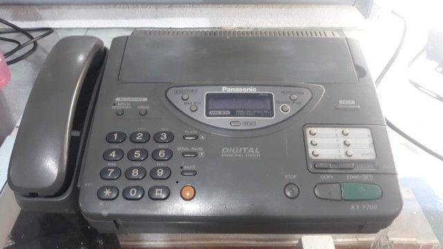 Fax - Aparelho de fax usado