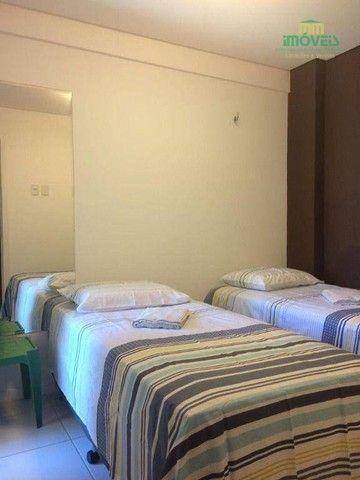 Apartamento com 5 dormitórios para alugar, 126 m² por R$ 4.000,00/mês - Porto das Dunas -  - Foto 4