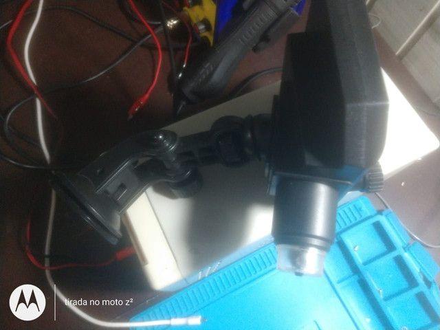 Microscópio digital com monitor LCD Full HD 600 x - Foto 2