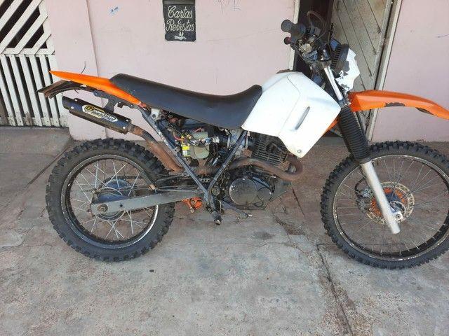 Moto Xr 200  pra interior(Só tem nada conta) - Foto 2