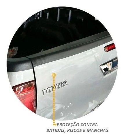 Kit Protetor De Borda Hilux 2016 2017 Cd Lateral E Tampa - Foto 3