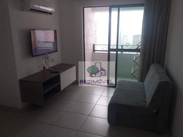 Excelente apartamento no Beach Class Santa Maria - Foto 2