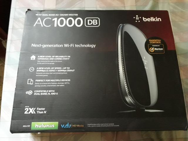 Roteador Belkin Ac1000