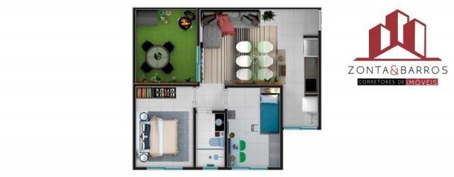 Apartamento à venda com 2 dormitórios em Estados, Fazenda rio grande cod:AP00003 - Foto 14