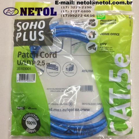 Patch Cord Soho Plus 2,5m