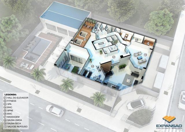 Apartamento à venda com 4 dormitórios em Zona 03, Maringá cod:1110006397 - Foto 4
